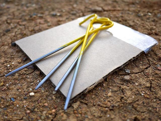 how to make a woood stake