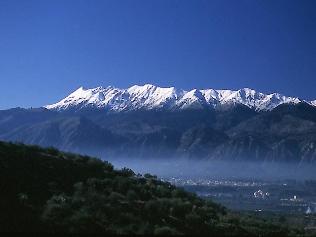 Mt. Taygetos, #Sparta during winter time #Lakonia #Peloponnese #Greece http://discover-peloponnese.com/