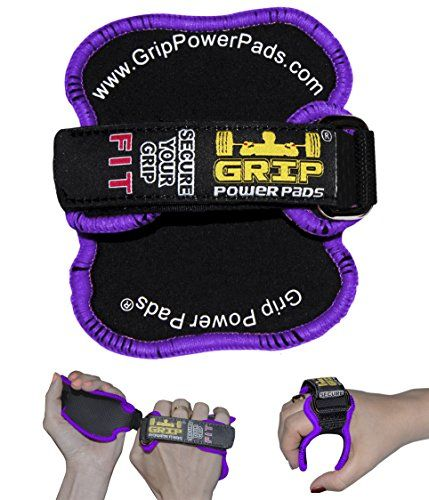 Grip Power Pads® FIT – Lifting Grips | Women Workout Gloves | The Alternative To Gym Gloves