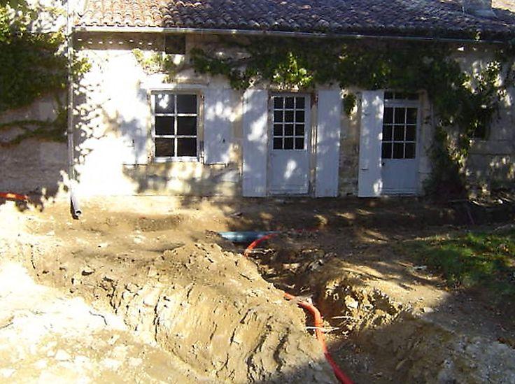 54 best Lu0027Histoire de la Gravette images on Pinterest Restoration - assainissement d une maison