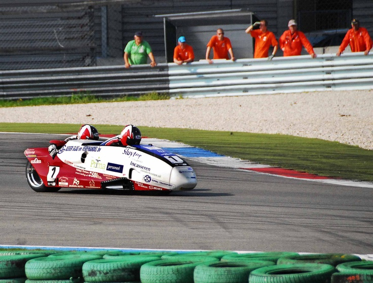 Side Car Team Streuer TT Circuit Assen