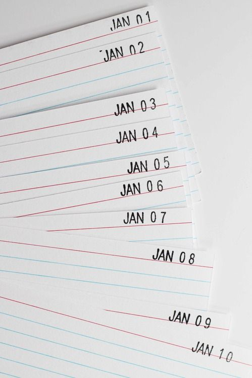 581 best Fun with Index Cards images on Pinterest Index cards