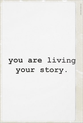 live your own story: Thoughts, Worth Reading, Life Quotes, Remember This, Inspiration, Wall Decals, Wisdom, Living Life, Life Stories