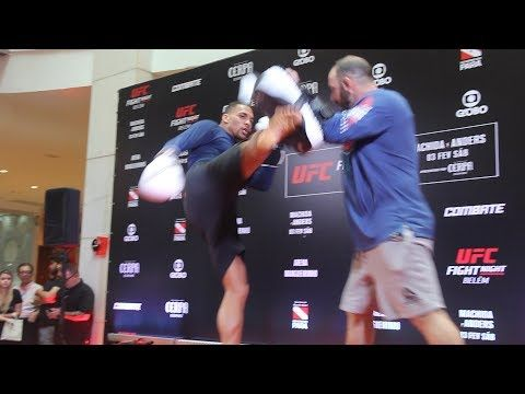MMA Eryk Anders UFC Belem Open Workout (Complete) - MMA Fighting