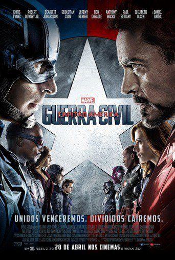 Assistir Capitão América: Guerra Civil Online Dublado ou Legendado no Cine HD