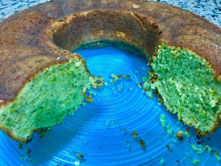 Fıstıklı kek çok güzel oldu.