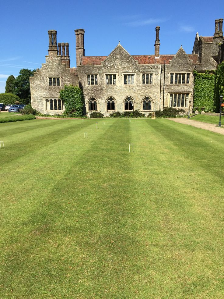 The Croquet Lawn at Eastwell Manor