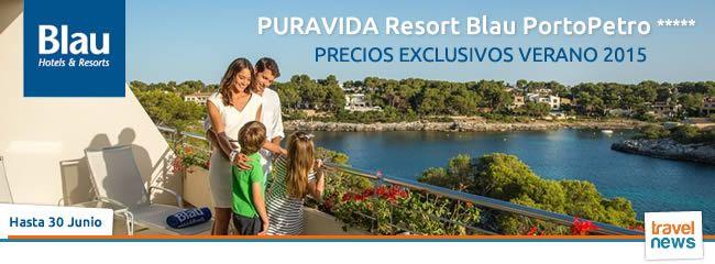 Ofertas de viajes en www.viajesviaverde.es: Puravida Resort Blau PortoPetro 5* en Mallorca
