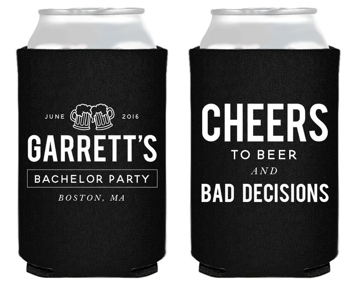 New to SipHipHooray on Etsy: Personalized Bachelor Party Bachelor Party Favors Bachelor Party Cheers Custom Can Coolers Stag Party Favor Bachelor Party Gifts 1410 (75.00 USD)