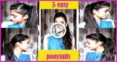 # Alltag #amp #Einfache Frisuren für die Schule #Einfache #Stile -