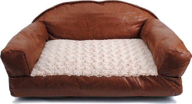Leather Dog Sofa Bed