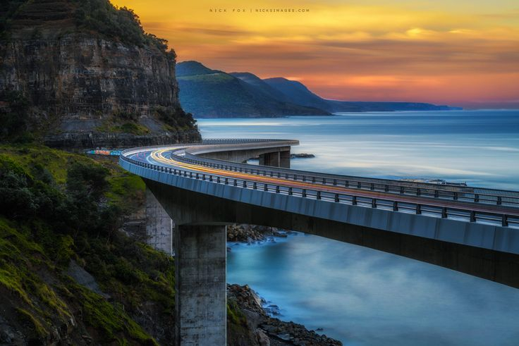 Sea cliff bridge by Nick Fox on 500px