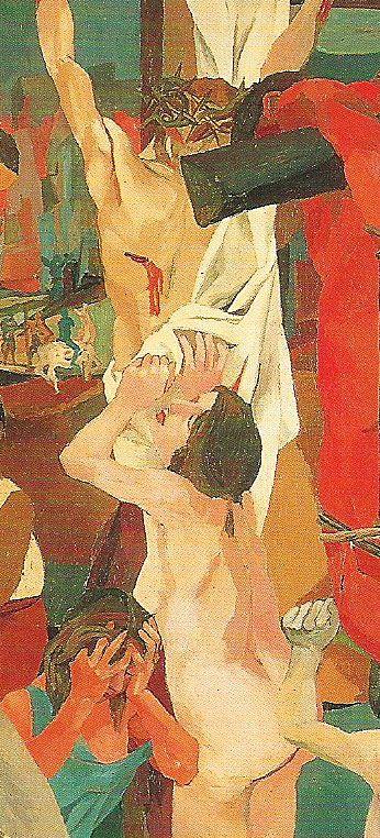 Magdalena ( Crucificxió, detall)  Guttuso, Renato