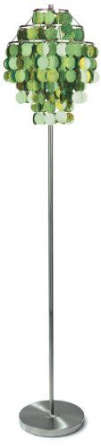 Three Cheers Lime Paillette Floor Lamp <3 Click the image to visit the Amazon website