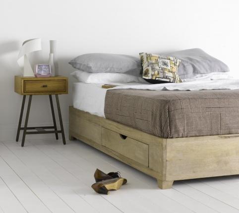 Flong dise o interior base cama con cajones muebles for Muebles infantiles en uruguay