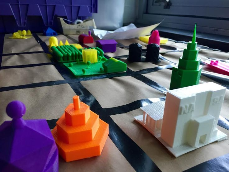5th Graders Utilize 3D Printing to Create Their Own Custom Cities http://3dprint.com/62963/3d-printed-cities/