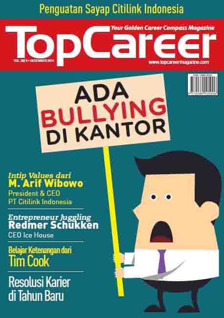 Cover Majalah Edisi 38 || Ada Bullying Di Kantor || Bagaimana Resolusi Karier Di Tahun Baru