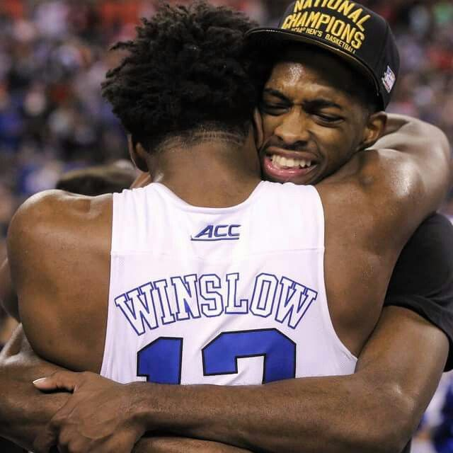 Justise Winslow and Amile Jefferson