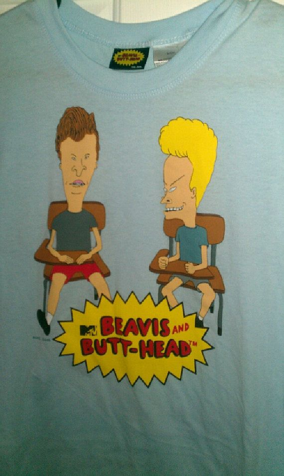 Beavis and Butthead Tshirt Size Small  Used in by EmilysCraftys, $4.88