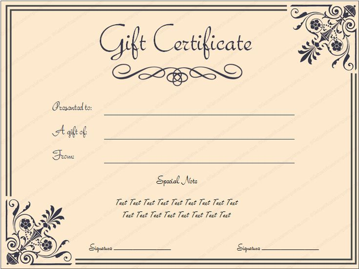 giftvoucher gifttemplate giftcertificate. Black Bedroom Furniture Sets. Home Design Ideas
