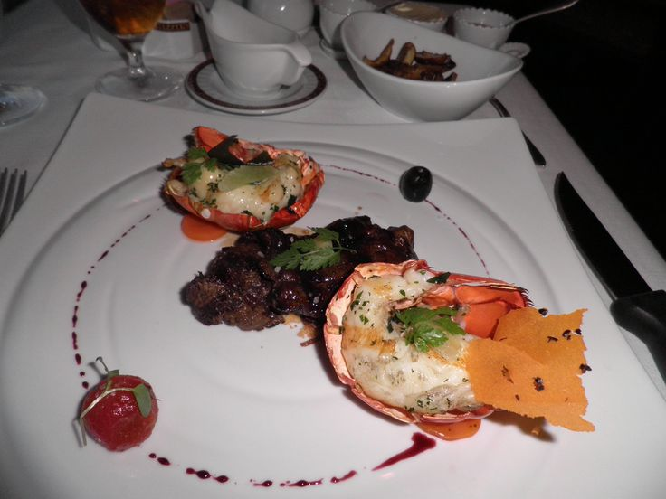 Surf & Turf at Harry's Steakhouse 10/02/11 Carnival Liberty