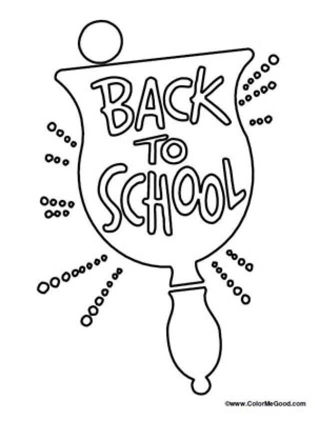 14 Places to Find Free Back to School Coloring Pages: Color Me Good's Back to School Coloring Pages
