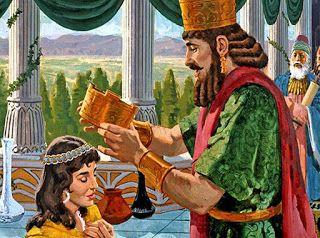 Purim. Rainha Ester