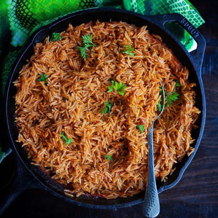 This Oven baked Cameroonian jollof takes a unique direction, using a blend of fresh herbs and spices. Free up a burner and try this unique jollof.