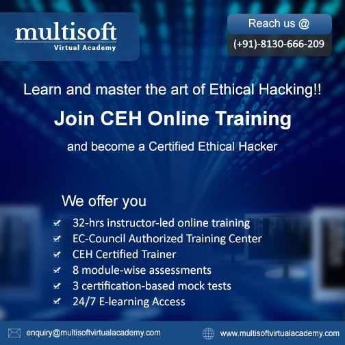 Join CEH Online Training and become a #Certified #Ethical #Hacker.  Click Here: http://goo.gl/pvRL6a  #Online #CEH #Training #Certification #Classes