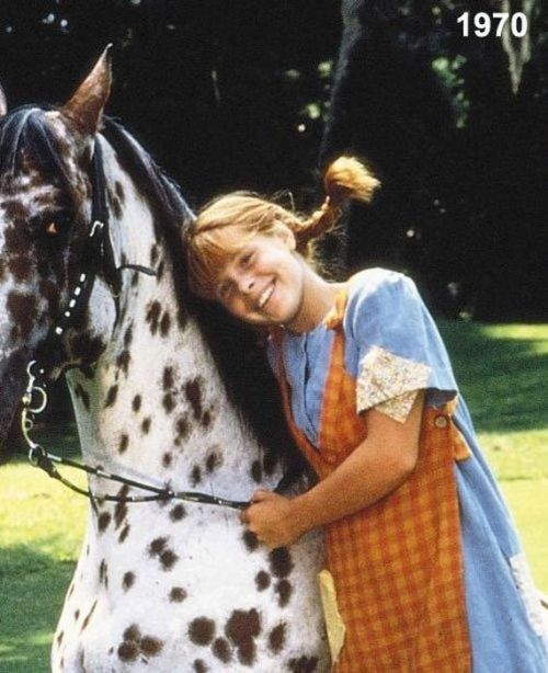 We all remember the actress Inger Nilsson of Sweden in the movie Pippi Longstocking. Let's see how this changed over the years, winding freckled girl and how she looks now, in these days.