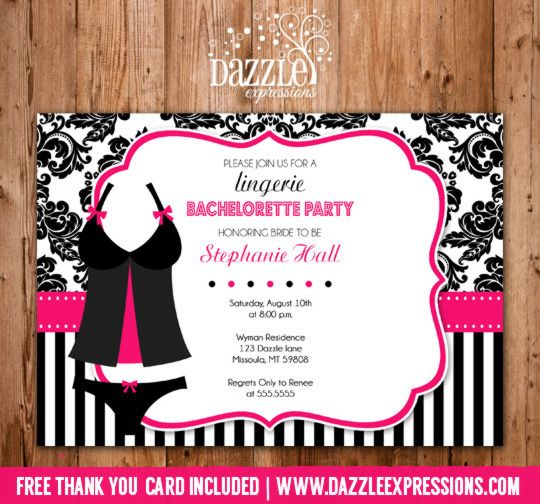 1000+ images about Bachelorette Party Invitations on ...