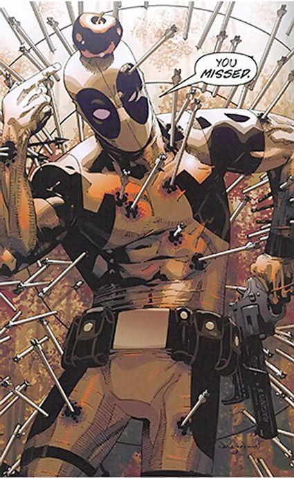 Deadpool - Marvel Comics - Merc with a mouth