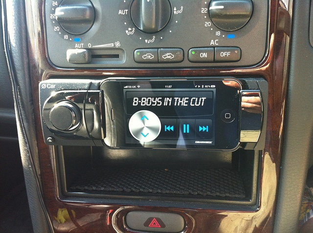 Car Audio Deck in action!