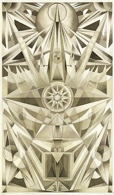 fantastic randomness and beautiful art by Fredrik Soderberg. Deals with the ockult / Sacred Geometry <3