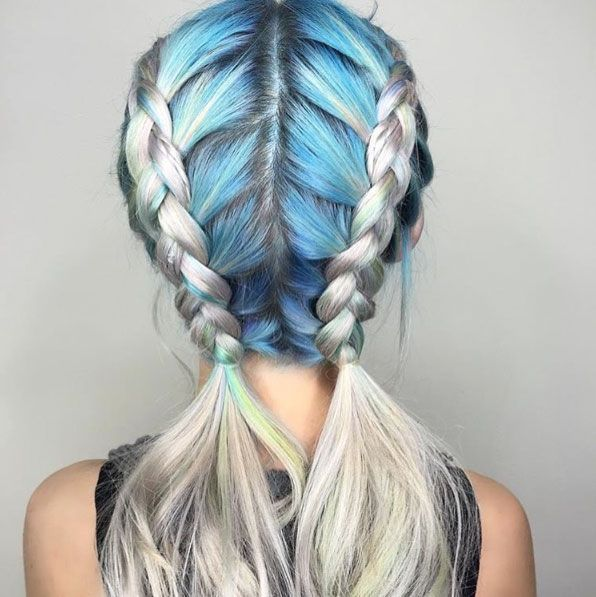 Best 25+ Cool hair ideas on Pinterest | Cool hair color, Pastel ...