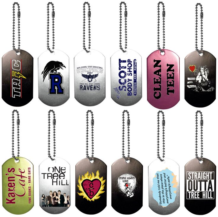 141 best one tree hill locations images on pinterest wilmington nc one tree hill collectors dog tag keychains publicscrutiny Choice Image