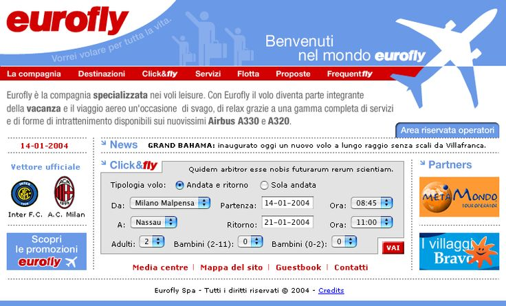 Home Page Eurofly