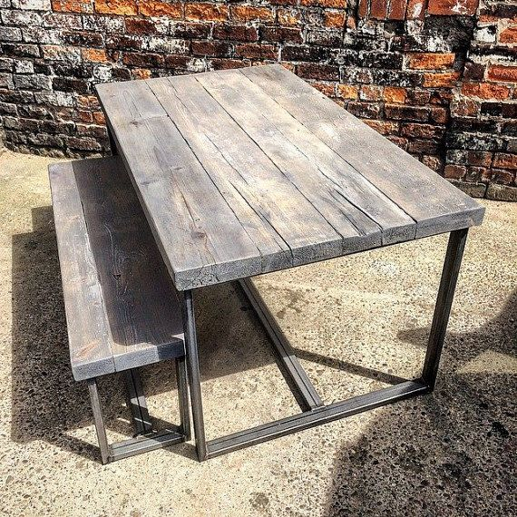 Reclaimed Industrial, 6 8 Seater; RccFurniture On Easy · Dining Room TableKitchen  ... Part 90