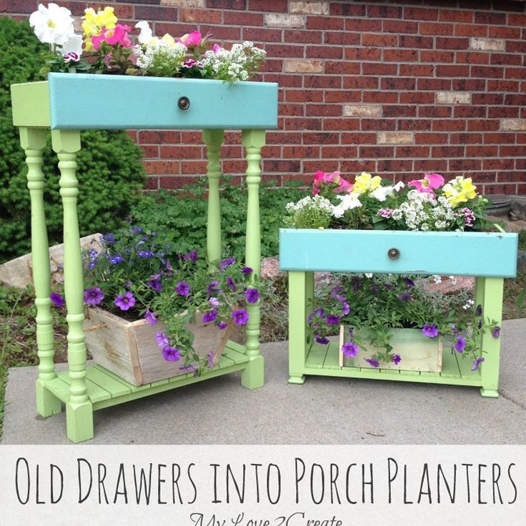 Got Old Drawers? Then Maybe You Want To Make Them Into.