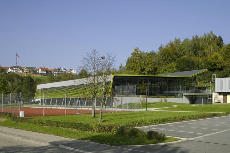 Horizontal Louvers  Sports Hall in Hardthausen       Architect : Heinisch.Lembach.Huber