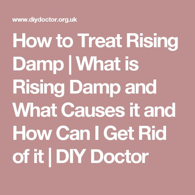How to Treat Rising Damp | What is Rising Damp and What Causes it and How Can I Get Rid of it | DIY Doctor