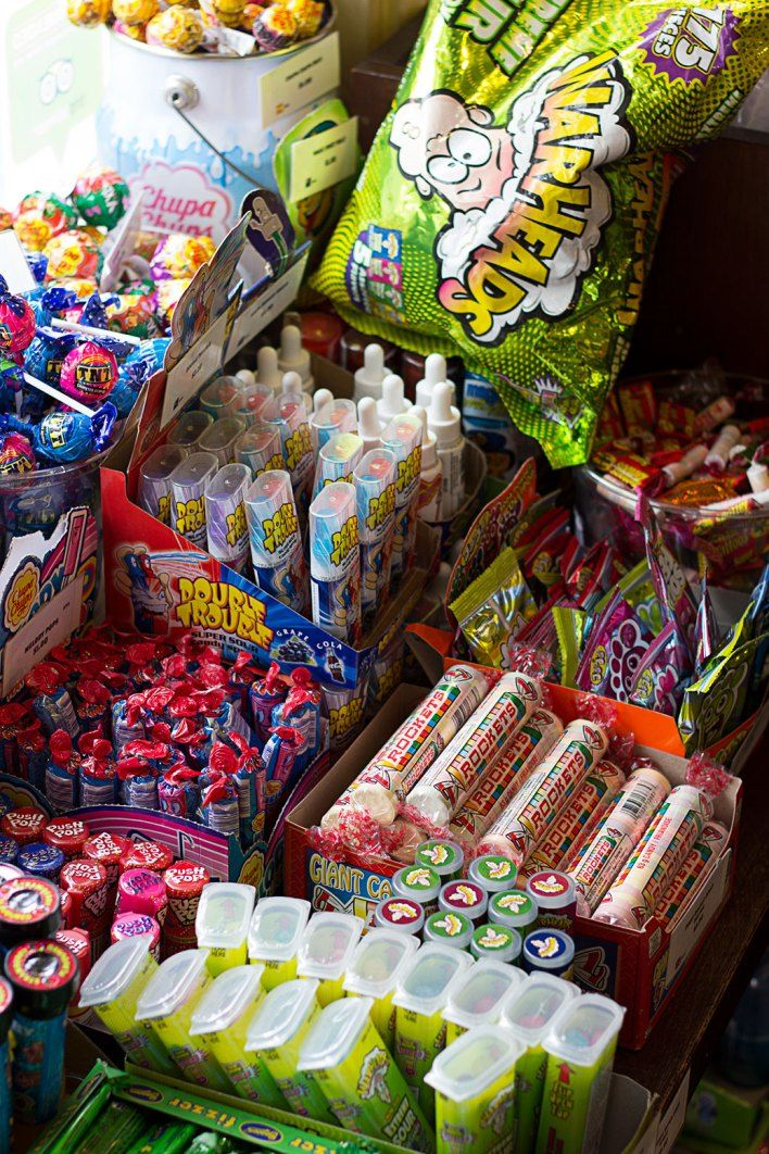 The Remarkable Sweet Shop, Arrowtown. New Zealand.