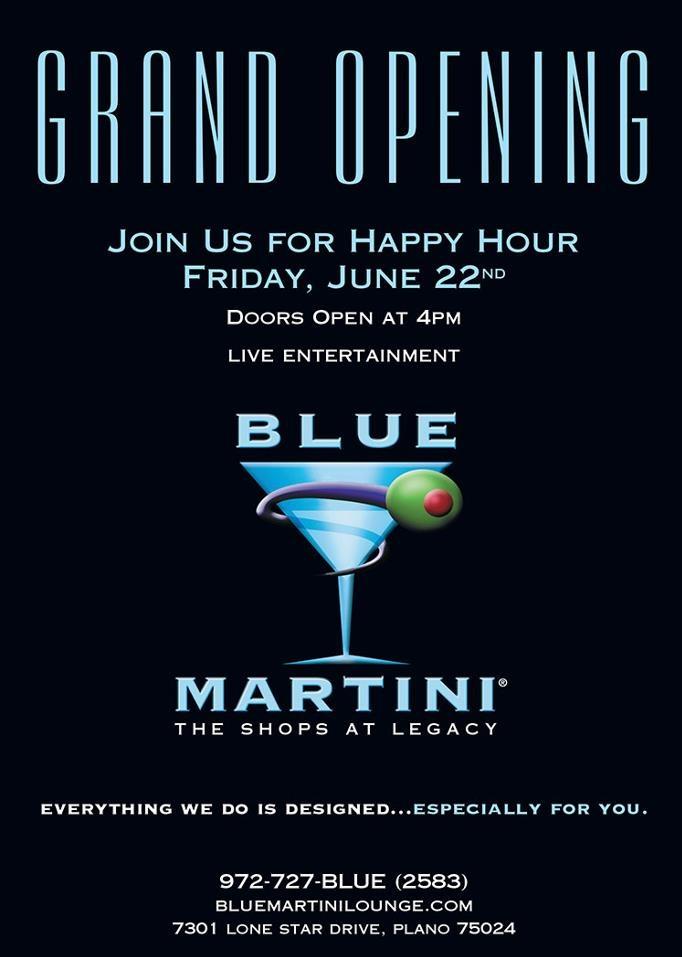 Blue Martini West Palm Beach Happy Hour