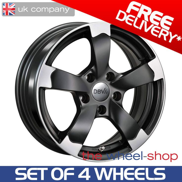 DBV Torino II Matte Black Polished Alloy Wheels For BMW X3 - 2003-2010...Fully TUV tested and weight approved DBV Alloy wheels for your BMW X3. When buying from the-wheel-shop you can have confidence in the knowledge that our wheels are subjected to full TUV testing (The German safety standards body) to ensure that they conform to the highest standards of quality and safety and meet the necessary requirements for the vehicle for which it is intended. Every van wheel we sell is supplied with…