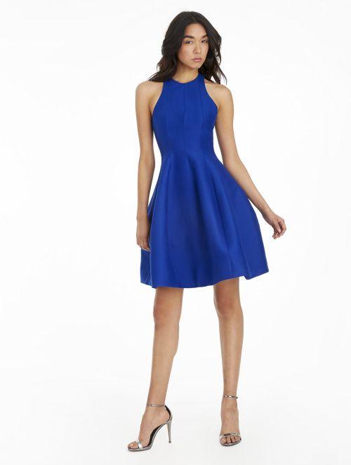 Silk Faille Structured Dress