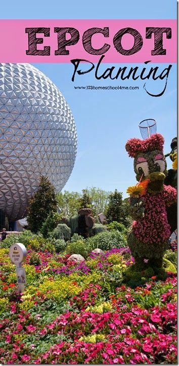 Epcot Planning Tips - Everything you need to know for your Disney World trip including Epcot rides, Epcot characters, Epcot tips, Epcot dining and more.