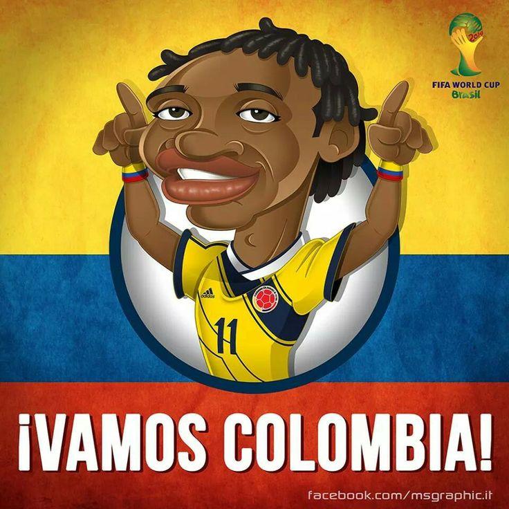 ¡¡¡¡¡CUADRADO -JUGADOR SELECCION COLOMBIA!!!
