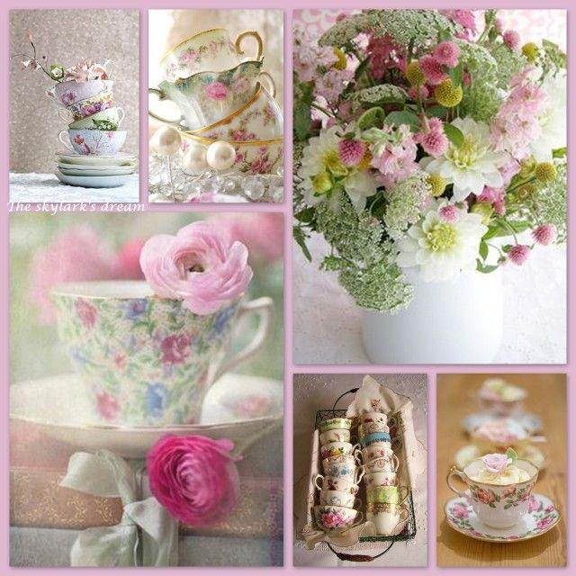 Elegant afternoon tea ...♥♥....