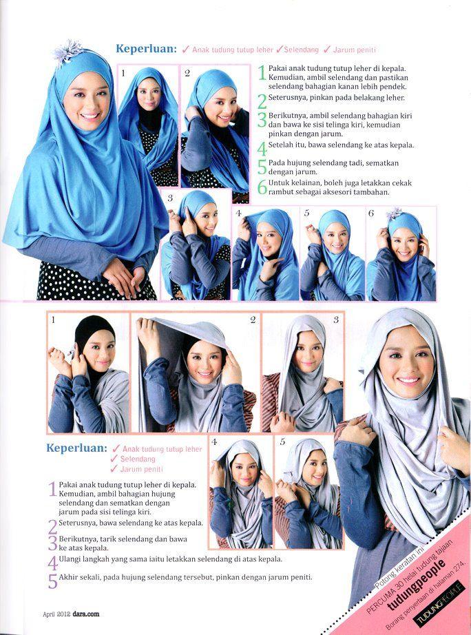How to wear hijab fashionably