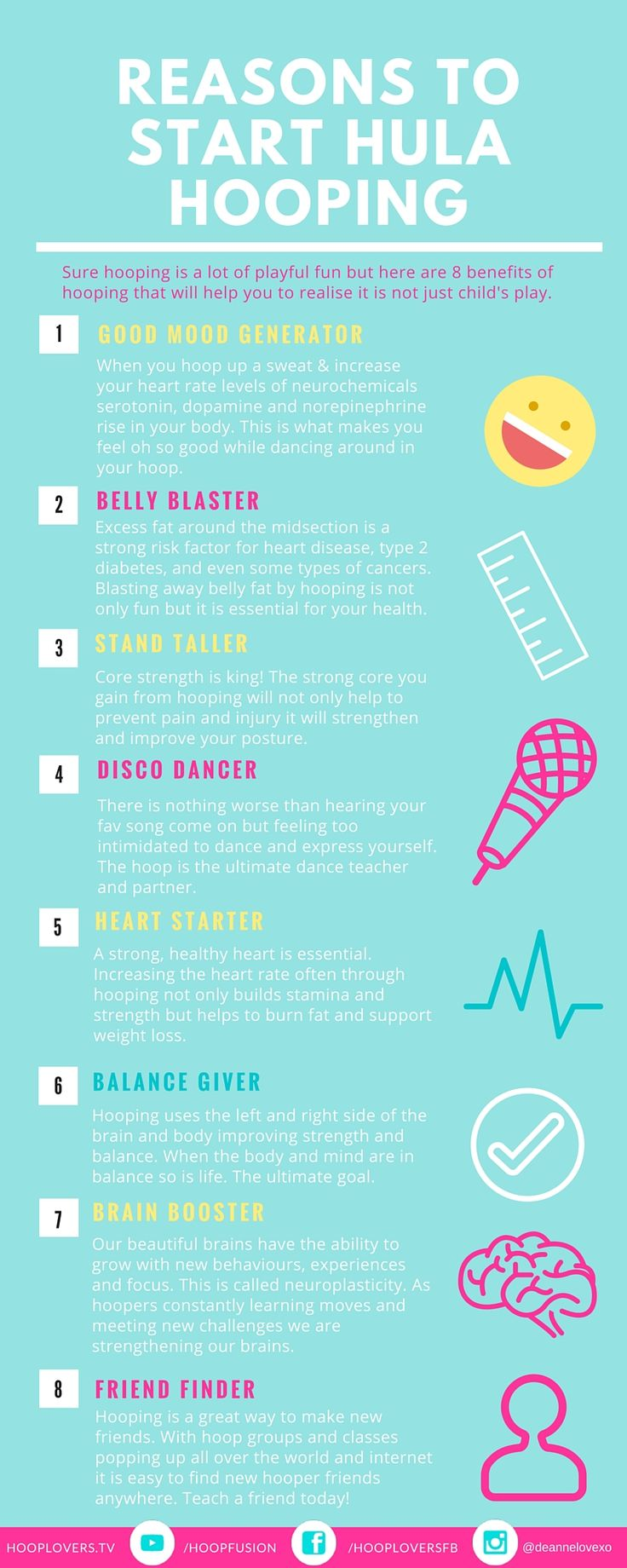 8 Reasons Why You Need to Get Yourself a Hula Hoop in 2016 http://hooplovers.tv/8-reasons-why-you-need-to-start-hula-hooping-in-2016/